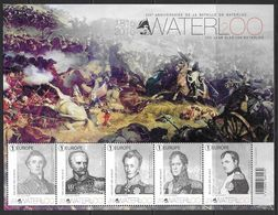 België 2015 Belgique -  BL229xx Waterloo. - Blocks & Sheetlets 1962-....