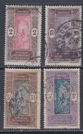 Dahomey N° 44 + 51 / 52 + 59  O  Partie De Série : Les 4 Valeurs Oblitérées Sinon TB - Dahomey (1899-1944)