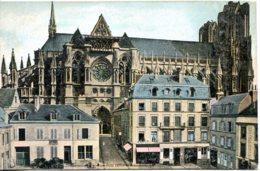 CPA -  REIMS - LA CATHEDRALE  (ETAT PARFAIT) - Reims