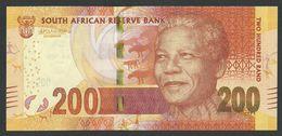 SOUTH AFRICA / AFRIQUE DU SUD. 200 RAND (2016). P 142b. NELSON MANDELA. SIGN. L.KGANYAGO. BACK: LEOPARD HEAD. UNC / NEUF - Suráfrica