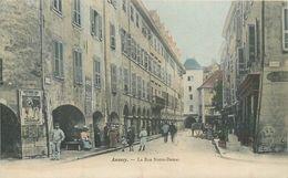 CPA 74 Haute Savoie Annecy Rue Notre Dame - Annecy