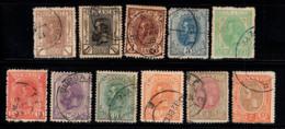 Roumanie 1893 Mi. 99-109 Oblitéré 100% Prince Charles - Oblitérés
