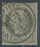 Lot N°56421   N°50, Oblit Cachet à Date De St-Brieuc, Côtes-du-Nord (21) - 1871-1875 Cérès