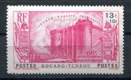 RC 17889 KOUANG TCHÉOU COTE 12€ N° 123 ANNIVERSAIRE DE LA REVOLUTION LA BASTILLE NEUF * TB  MH VF - Nuevos