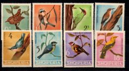 Albanie 1964 Mi. 849-856 Neuf ** 100% Oiseaux, Faune - Albanie
