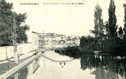 CASTELNAUDARY   =    Moulin St Roch Et Passerelle De La Cibelle  1554 - Castelnaudary