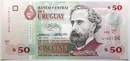 Uruguay - 50 Pesos Uruguayos - 2003 - PICK 84 - NEUF - Uruguay
