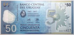 Uruguay - 50 Pesos Uruguayos - 2017 - PICK 100a - NEUF - Uruguay