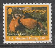 Guernsey 1998 Tourism - Self-adhesive Without Value Specification Multicoloured MIN Post Paid USED SW 768 - Guernsey