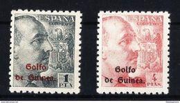 GUINEA **269/70 Nuevo Sin Charnela. Cat.30 € - Guinée Espagnole