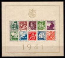 Portugal 1941 Mi. Bl. 4 Bloc Feuillet 40% Neuf * Costumes Populaires - Neufs
