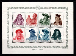 Portugal 1947 Mi. Bl. 13 Bloc Feuillet 80% Costumes Populaires, Nouveau Sans Gomme - Neufs