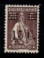 Portugal 1928-29 Mi. 482 Neuf * 60% Ceres, 15 Cents Sur 20 C. - 1910-... Republik