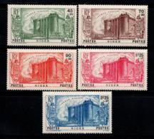 Niger 1939 Yv. 69-73 Neuf ** 100% Révolution - Niger (1921-1944)