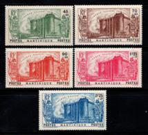 Martinique 1939 Yv. 170-174 Neuf ** 100% Révolution Anniversaire - Martinique (1886-1947)