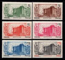 Réunion 1939 Yv. 158-162, PA 6 Neuf ** 100% Révolution.. --- - Réunion (1852-1975)