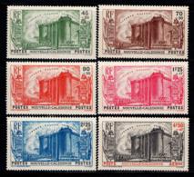Nouvelle-calédonie 1939 Yv. 175-179, PA 35 Neuf ** 100% Révolution - Neufs