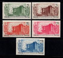 Guinée 1939 Yv. 153-157 Neuf ** 100% Révolution Anniversaire - Guinée Française (1892-1944)