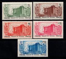 Wallis Et Futuna 1939 Yv. 72-76 Neuf ** 100% Révolution - Neufs