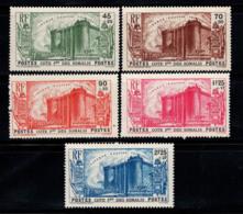 Côte Somalienne 1939 Yv. 172-176 Neuf ** 100% Révolution Du 150e Anniversaire - Französich-Somaliküste (1894-1967)
