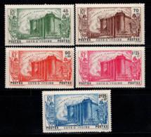 Côte D'Ivoire 1939 Yv. 146-150 Neuf ** 100% Révolution Du 150e Anniversaire - Elfenbeinküste (1892-1944)