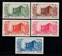 Guadeloupe 1939 Yv. 142-146 Neuf ** 100% Révolution Anniversaire - Guadeloupe (1884-1947)