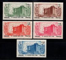 États Français Inde 1939 Yv. 118-122 Neuf ** 100% Révolution Du 150e Anniversaire - Neufs