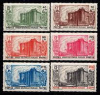 Afrique équatoriale 1939 Yv. 72-76, PA 9 Neuf ** 100% Révolution, 4 F. - Timbres