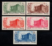Kouang-Tchéou 1939 Yv. 120-124 Neuf ** 100% Révolution Du 150e Anniversaire - Kouang-Tchéou (1906-1945)