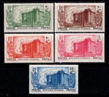 Kouang-Tchéou 1939 Yv. 120-124 Neuf * 100% Révolution Anniversaire - Kouang-Tchéou (1906-1945)
