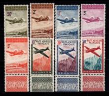 Réunion 1942 Yv. 10-17 Neuf * 100% Poste Aérienne Avions - Ungebraucht