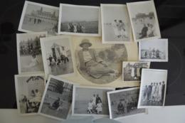 Lot Photos Mer Plage Maillot Surtout Côte Belge Ostende, La Panne, Knokke, ... - Photographs