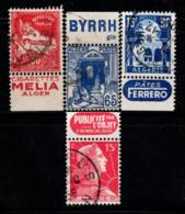 Algérie 1927-55 Oblitéré 100% 50 C, 65 C, 15 F, Mosquée - Gebraucht