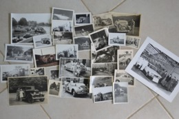 Lot Photos Vieilles Voiture S Oldtimer - Andere