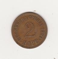 2 PARA 1904 BRONZE - Serbie