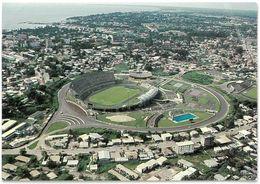 CP LIBREVILLE ( Gabon ) - Du Stade ... Au Cap Santa Clara - Photo L. TROLEZ , Libreville - Gabun