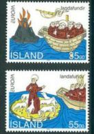 1994 - Islanda 753/54 Vulcano - Volcanos