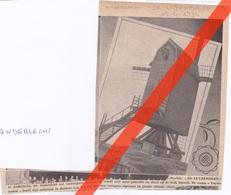 ANDERLECHT - DE LUYZEMOLEN - WINDMOLEN WIJK BROECK - TIJDSCHRIFTAFBEELDING  - 1934 - Faire-part