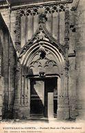 18520     FONTENAY LE COMTE   PORTAIL SUD DE L EGLISE ST JEAN - Fontenay Le Comte