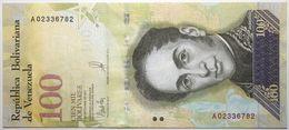 Venezuela - 100000 Bolivares - 2017 - PICK 100a - NEUF - Venezuela