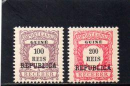 GUINEE PORT. 1919 SANS GOMME - Portuguese Guinea