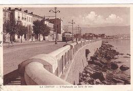 Bouches-du-Rhône - La Ciotat - L'Esplanade Au Bord De Mer - La Ciotat