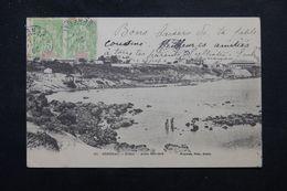 SÉNÉGAL - Affranchissement Groupe En Paire De Dakar Sur Carte Postale En 1905 Pour La France - L 63364 - Sénégal (1887-1944)