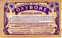 Médicament : Ancien Sachet Vide (années 1940-1950) D'OXYBORE, Antiseptique Universel, Hygiène, Santé, Utilisation Au Dos - Matériel Médical & Dentaire