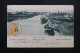 GRECE - Affranchissement Plaisant Recto / Verso Sur Carte Postale De Zante Pour La France En 1903 - L 63368 - Covers & Documents