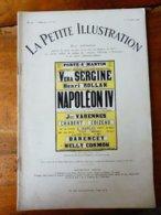 NAPOLÉON IV , De Maurice Rostand  (origine  La Petite Illustration Daté 1928 ) Pub PIANO Gabriel Gaveau (dessin Thiérry) - Franse Schrijvers