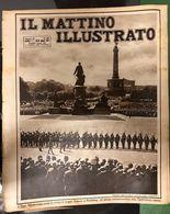 Il Mattino Illustrato 24-31 08 1925 Il Pres. Hindenburg Passa In Rivista Le Truppe COD Doc.295 - Books, Magazines, Comics