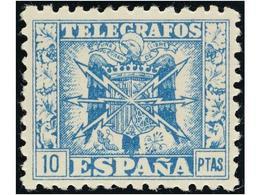 SPAIN: TELEGRAFOS - Emissions Républicaines