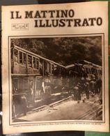 Il Mattino Illustrato 10-17 08 1925 Il Tragico Deragliamento Notturno Diretto Le Mans - Tours COD Doc.297 - Books, Magazines, Comics