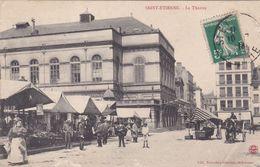 Cpa SAINT ETIENNE LE THEATRE - Saint Etienne